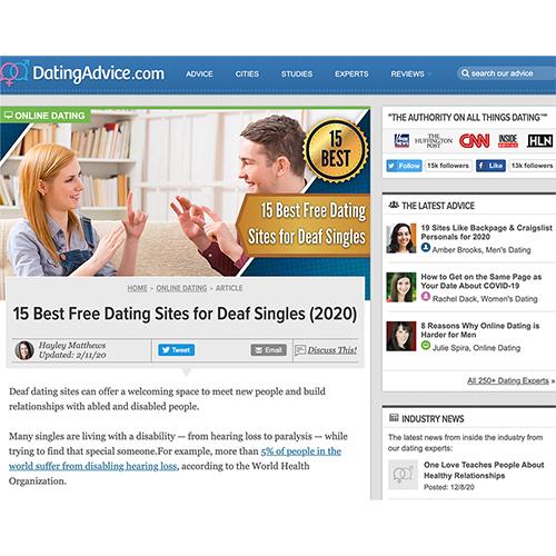 dating advice website